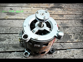 DO NOT THROW THE OLD WASHING MACHINE MOTOR IN THE TRASH / DIY LATHE FOR WOOD