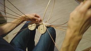 Плетение коляски BONIA часть 1