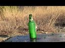 🟡 Взрываем бутылки питардами. Приколы с петардами.
