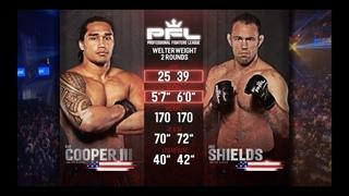 Ray Cooper III vs Jake Shields 2 Full Fight | PFL 10 2018