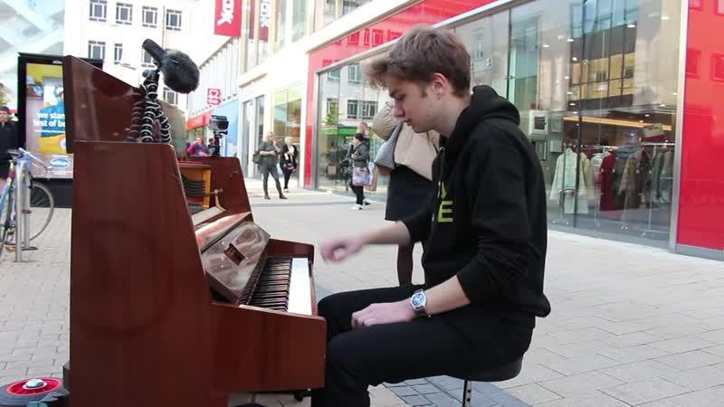 Joe Jenkins I played GIORNO S THEME on piano in public