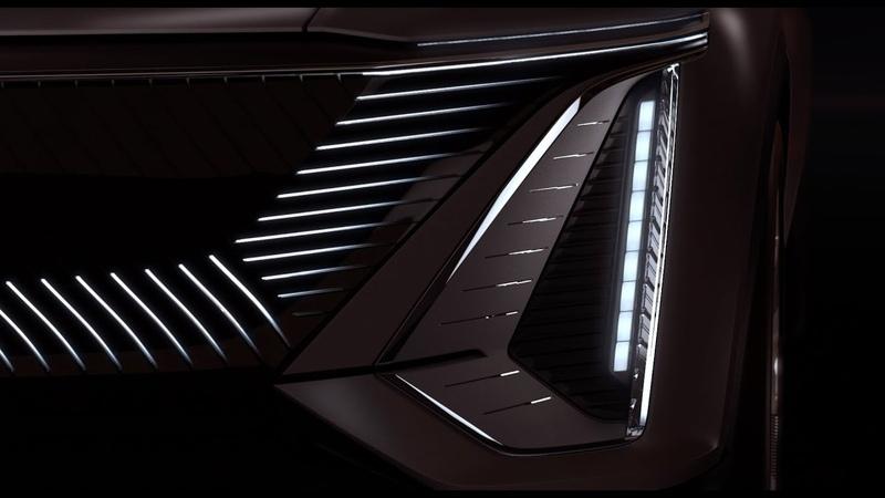 Cadillac сделает электрокроссовер с огромным экраном и анимированной эмблемой