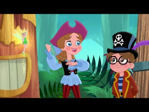 Джейк и Пираты Нетландии Последняя надежда Капитана Крюка серия 20 сезон 4 Мультфильм Disney