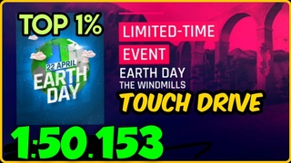 Asphalt 9 | Touch Drive (60 FPS) | Earth Day | Top 1% | 1:50:153 | Run by $Poppin_Ansh$