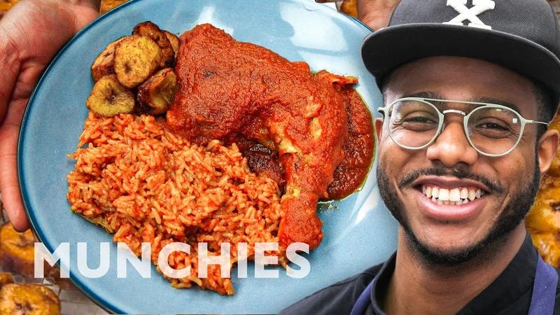 How To Make Nigerian Jollof Rice and Chicken Stew