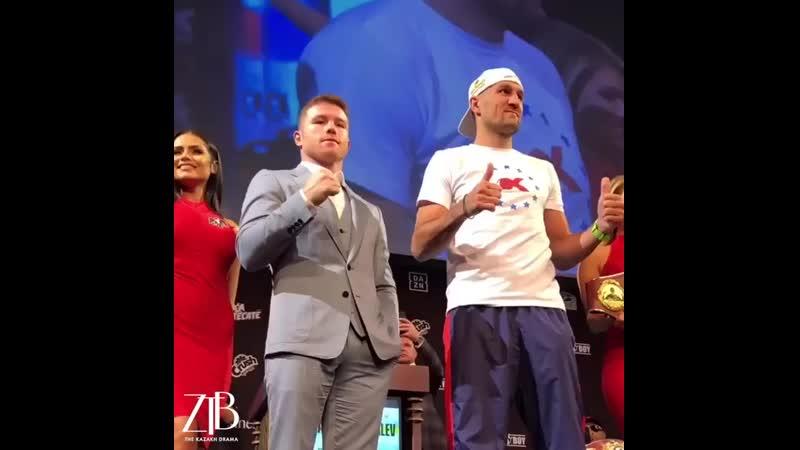 Бой между чемпионом WBC и WBA Альваресом и Ковалевым.mp4