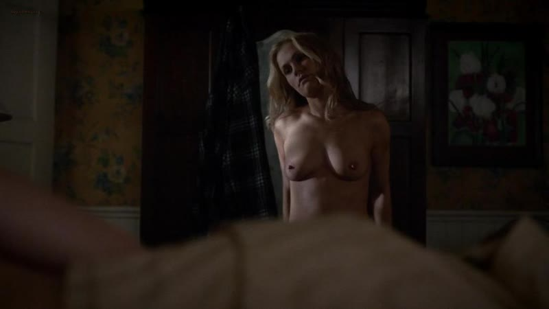 "Анна Пэкуин (Anna Paquin nude scenes in ""True Blood"" s07e01 2014)"