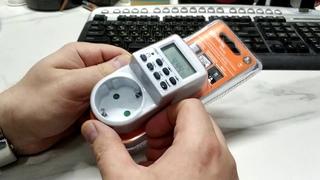 TDM electric ТРЭ-01 недельный+ суточный розеточный электронный таймер. Обзор, изучение функций.