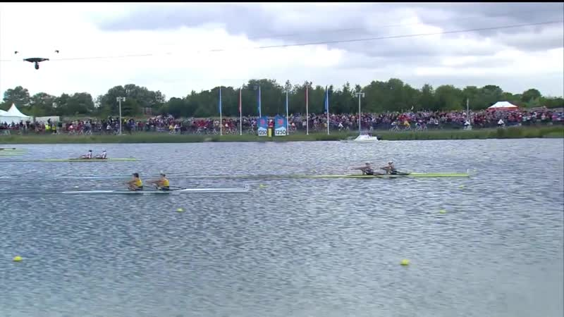 Rowing Women s Double Sculls Finals GBR win gold Full Repl