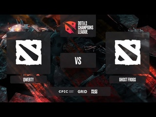 qwerty vs Ghost frogs, Dota 2 Champions League 2021 S1, bo3, game 2 [Mila & Adekvat]