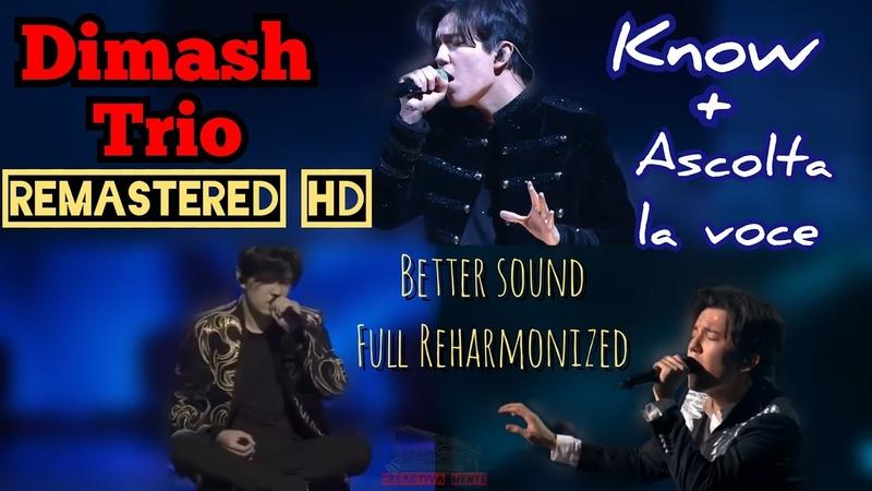 Know Ascolta la voce Trio Remastered edition Dimash Kudaibergen HD Audio