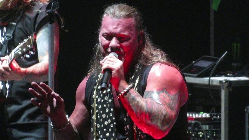 Fozzy Painless Chris Jericho WWE wrestler Feed the Machine Tour, Mohegan Sun