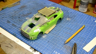 Craft magic. Post apocalyptic model car build. Переделка машинки из Fix price