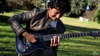 Deep Purple - Burn - Amazing performance - Guitar cover by Damian Salazar (2020)