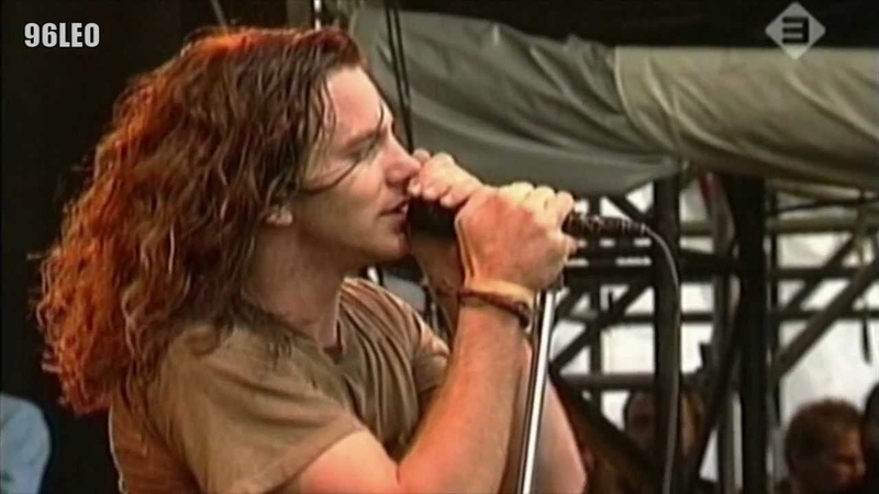 HD Pearl Jam Black Pinkpop 1992