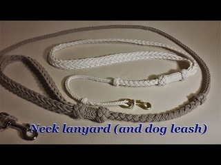 Fancy Neck lanyard (or dog leash)