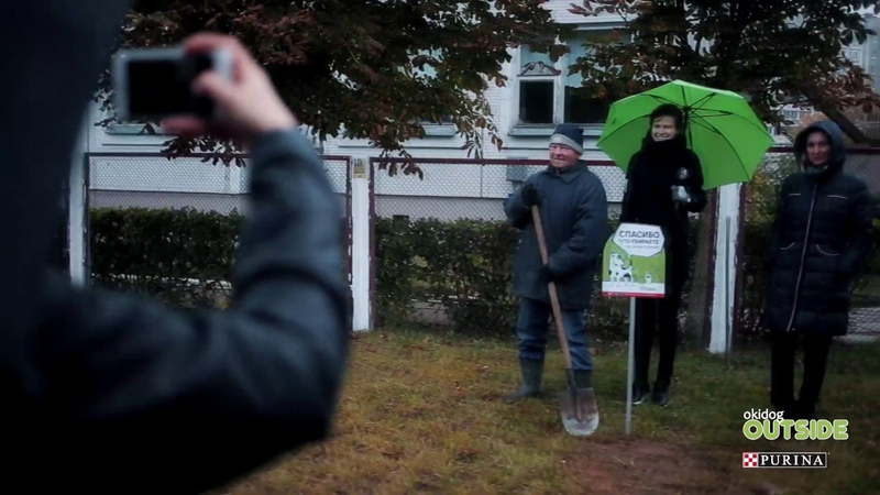Okidog Outside Таблички на улицах Городецкой и Гинтовта