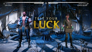 Mortal Kombat X - Test Your Luck with Sub Zero (Cryomancer)