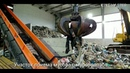 Установка непрерывного пиролиза с системой подготовки и хранения мусора. Болгария 2019.