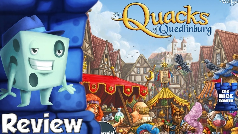 The Quacks of Quedlinburg Review with Tom Vasel