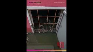 Затопления канализацией  подвала 10 этажного дома по ул. Школьной 15/5.. затоплен он три месяца