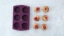 Tupperware - Recette moelleux amandes coeur rouge
