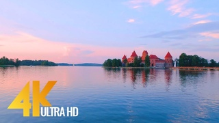 Incredible Beauty of Lithuanian Nature - 4K Relaxation Video with Nature Sounds