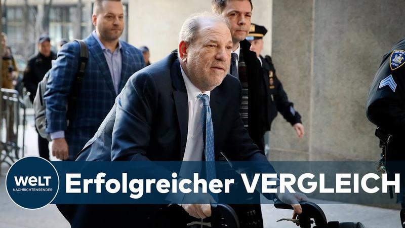 """SEXUELLER MISSBRAUCH Erfolg oder """"Ausverkauf"""" Opfer einigen sich mit Weinstein"""