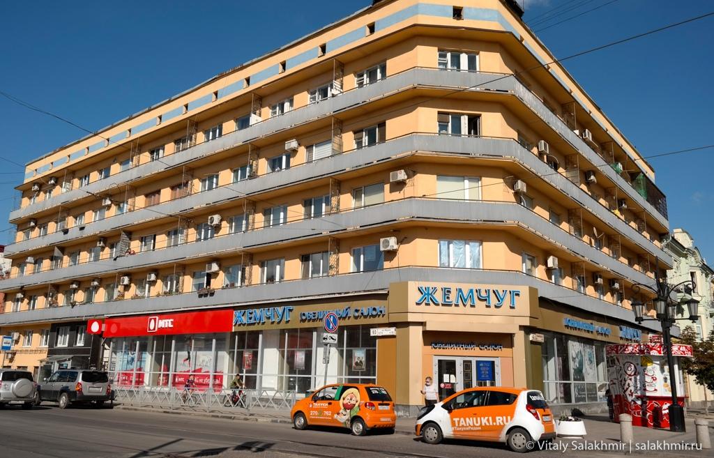 Гостиница на Ленинградской улице в Самаре