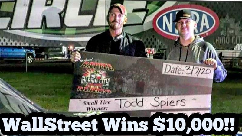 WallStreet Todd Spiers Wins $10 000 in his single shock Mustang