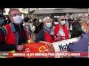 Marseille plusieurs centaines de personnes réunies pour la manifestation de la CGT