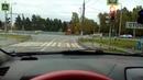 Авария в новой Москве на куриловском перекрестке
