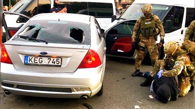 Экшн Крещатик Корд спецназ Киев погоня Затримання злочинців
