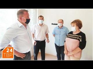 Капитальный ремонт школы №22 ведётся на средства местного бюджета | Новости | ТВР24 | Сергиев Посад