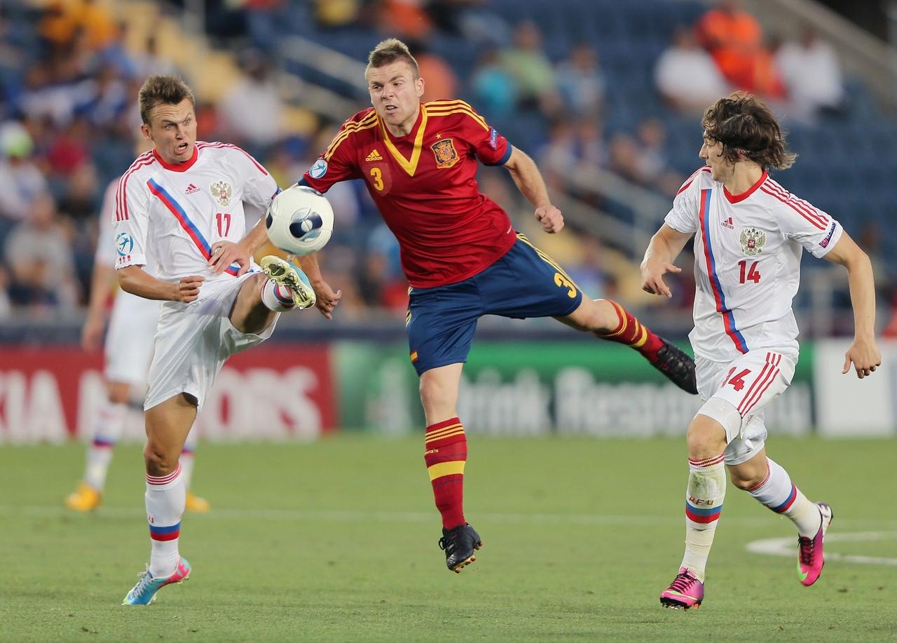 Россия U21 - Испания U21. Молодежное Евро 2013