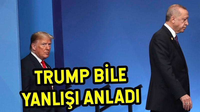 Erdoğan TRUMP BİLE KABUL ETTİ AMA SİZ
