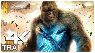 GODZILLA VS KONG : 7 Minute Trailers (4K ULTRA HD) NEW 2021