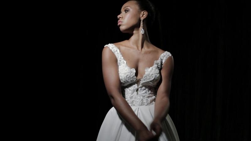 Wedding dress Sesil Black Sapphire Collection Jasmine Empire
