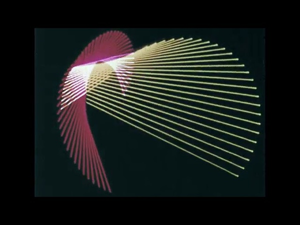 John Whitney Experiments in motion graphics 1968 Generative graphics