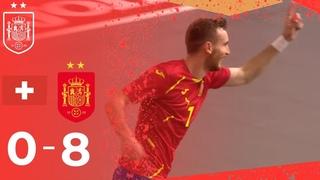 RESUMEN | Suiza 0-8 España | Jornada 2 de la Fase de Clasificación al Europeo de 2022