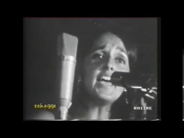 JOAN BAEZ C'era un ragazzo che come me amava I Beatles e i Rolling Stones Live Italy 1970