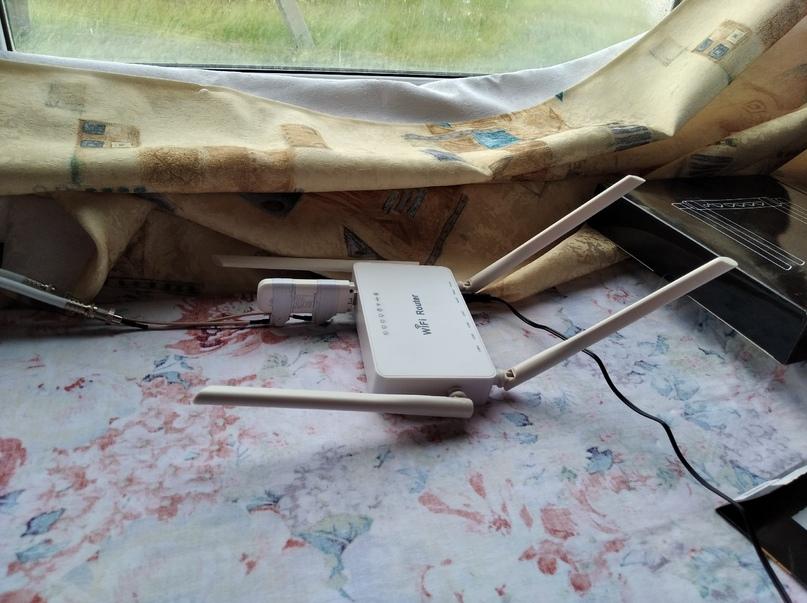 Установка №6 роуетр WiFi.