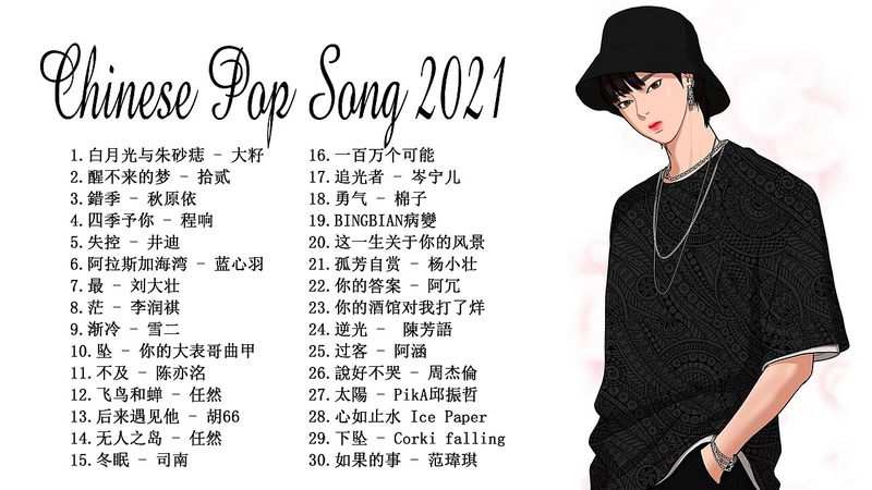 My Top 30 Chinese Pop Song In Tik Tok 2021 © 抖音 Douyin Song🙆🏻💗