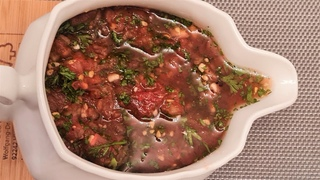 Домашний соус из томатов для Барбекю.