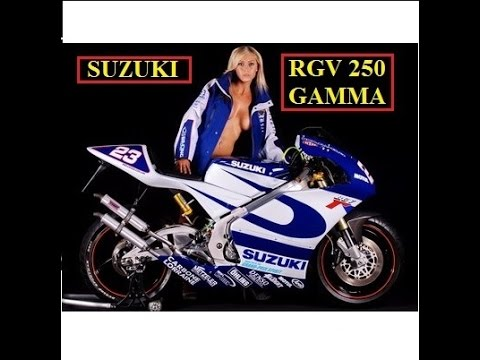 History of the SUZUKI RVG 250 GAMMA - 1988 to 1998 Official Review