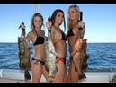 Лучшие приколы девушки на рыбалке крики визги мега смешно best girl jokes on fishing