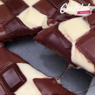 id_52215 Шоколадный тарт с бананом — то, что нужно для хороших посиделок 🍫🍌  Автор: Chef Club  #gif@bon