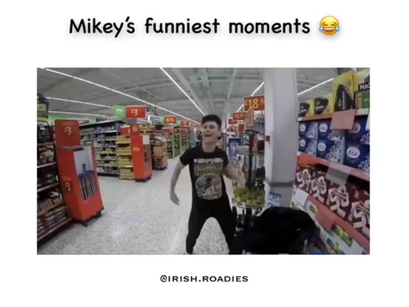 Смешные моменты с Майки