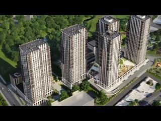 Купить квартиру в новостройке- ЖК TopHILLS- жилой комплекс бизнес - класса в Москве #купитьквартиру