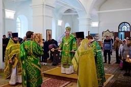 Богослужение в храме Рождества Пресвятой Богородицы села Васильевка